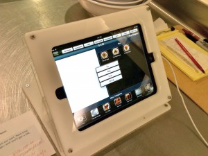 Ui-Cha! iPad 2 POS order system