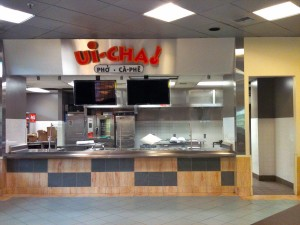 Ui-Cha! front service area ready for business