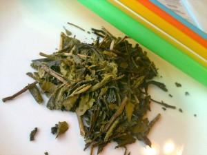 Green tea used in Ui-Cha! milk tea with tapioca pearl